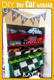 diy toy car garage