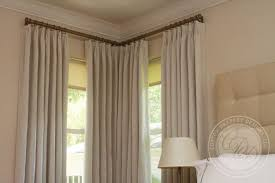 Curtains Corner Windows Ideas Window Curtains Pic Of Curtains Curtain Rods For Corner Windows