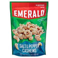 emerald salt and pepper cashews 5 5oz target