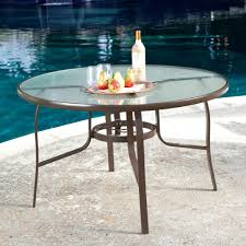 Umbrella Hole Ring Set by Patio Ideas 60 Inch Round Glass Patio Table Round Glass Patio