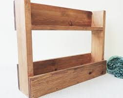 wooden shelf etsy