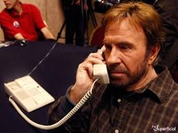On The Phone Meme - chuck norris on the phone blank template imgflip