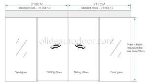 sliding glass door size standard standard sliding glass door dimensions