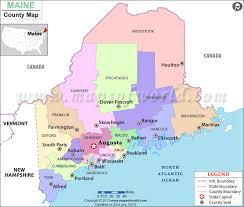 maine map with cities buy maine county map