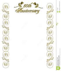 50th wedding anniversary invitation stock photos image 7172353