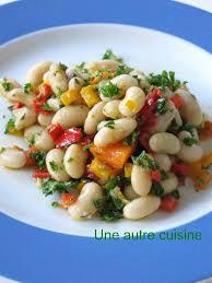 comment cuisiner des haricots blancs haricots blancs frais mojettes en salade une autre cuisine