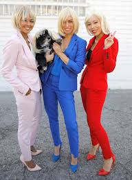 groups costumes for halloween hillary clinton pantsuit squad halloween costume diy