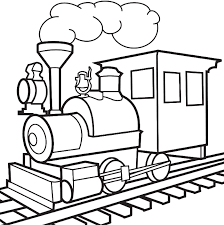 picture train colouring pages coloring