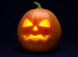 halloween pumpkin transparent background clipart with black background