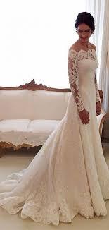 chapel wedding dresses scalloped lace chapel trumpet sleeves wedding dress