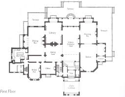 Architectural Floor Plan by Ochre Court Floor Plan The Floor Plan Of