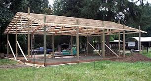 How To Build A Pole Barn Shed Roof by Pole Barn Construction Guide All Pole Building Applications