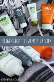 Origins Skin Care Review Origins U0027just The Essentials U0027 Set With Love From Lou