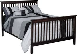 Black Baby Bed Solid Wood Baby U0026 Nursery Cribs Countryside Amish Furniture