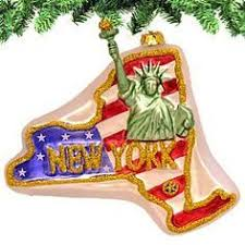 state christmas tree ornaments new york city the most populous
