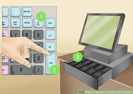 Cash Register Desk How To Operate A Kmart Cash Register With Pictures Wikihow