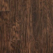 Laminate Floor Steps Pergo Xp Coffee Handscraped Hickory 10 Mm Thick X 5 1 4 In Wide X