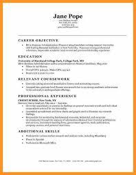 entry level finance resume examples entry level finance resume