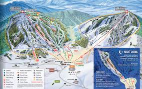 Colorado Mountain Map by Ski Granby Ranch Trail Map