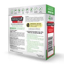advecta 3 flea u0026 tick treatment for dogs u2013 flea and tick medicine