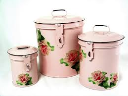 Decorative Canisters Kitchen by Amazon Com Retro Vintage Canister Set Kitchen Storage