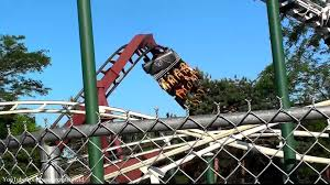 Six Flag Illinois Iron Wolf Off Ride Hd Six Flags Great America Youtube