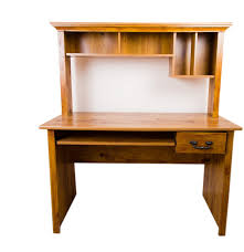 knotty pine computer office desk ebth