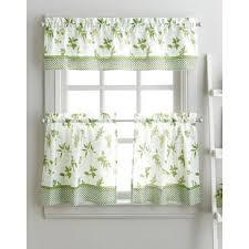 Green Kitchen Curtains Lime Green Kitchen Curtains Wayfair