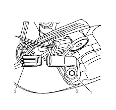 repair instructions on vehicle output speed sensor replacement