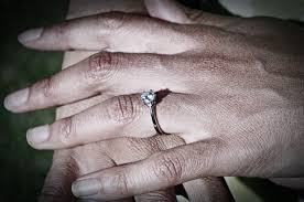 ring marriage finger free images black and white woman