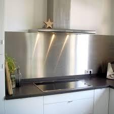 bandeau inox pour cuisine plaque inox 304l brossé alimentaire