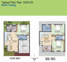 scintillating duplex house plans west facing gallery best
