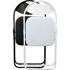 Desk Chair White Harbour Housewares White Frame Folding Desk Chair