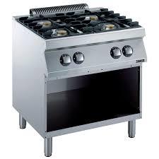 Modular Gas Cooktop Modular Cooking Range Line Evo700 4 Burner Gas Range On Open Base