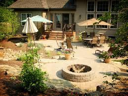 firepit in backyard looks stunning u2014 furniture decor trend