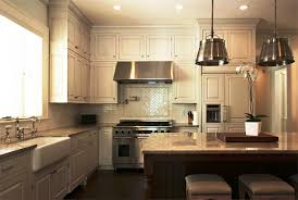 granite countertops kitchen pendant lighting over island flooring