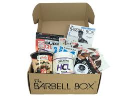 Fitness Gift Basket The Barbell Box Monthly Workout Subscription Box Cratejoy