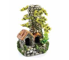 classic biorb aquarium ornament cobble chimney 7 5 inch