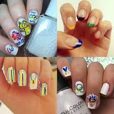 Nail Art Designs Games Gallery Olympics Inspired Nail Art To Get You Ready For Rio 2016