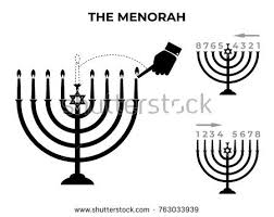how to light chanukah candles rules lighting chanukah menorah jewish holiday stock vector 2018