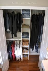 Small Closet Organization Pinterest by How To Build An Easy Clothes Closet From A 50 Kit Small