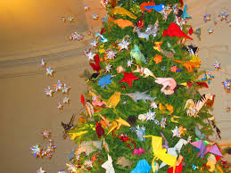 pay a visit origami tree at the natural history museum