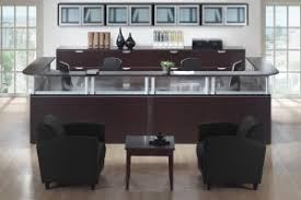 Two Person Reception Desk Person Reception Desk