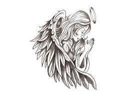beautiful angel drawing 1000 images about angel tatoopaintdraw on
