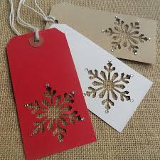 Christmas Homemade Gifts by Cute Tag Idea Using A Small Punch I Would Use Different Colors