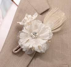 Wedding Boutonniere Burlap Boutonniere Wedding Boutonniere