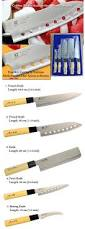 goldsun stainless steel rostfrei 5 piece set kitchen knife japan