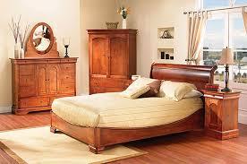 chambre en merisier mobilier chambre à coucher classique