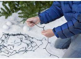 Christmas Outdoor Decorations Ireland by How To Hang Outdoor Christmas Lights Help U0026 Ideas Diy At B U0026q