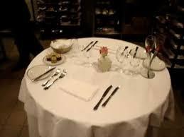 Mise En Place D Une Table Au Room Service